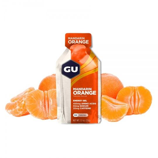 GU Energy Gel 32 g - Mandarin/Orange (balení 10ks)