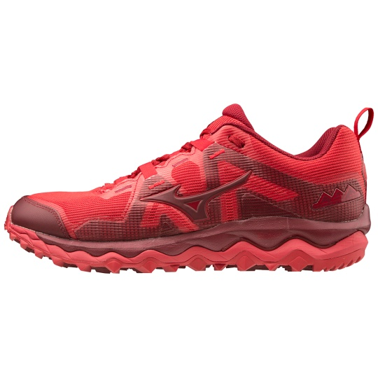 MIZUNO WAVE MUJIN 6 / CRed/Biking Red /