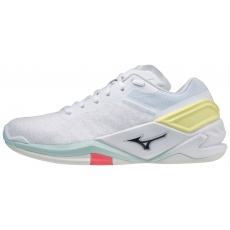 MIZUNO WAVE STEALTH NEO / WHITE / SKY CAPTAIN / CLEARWATER /