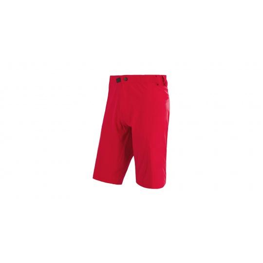 SENSOR CYKLO HELIUM pánské kraťasy volné červená