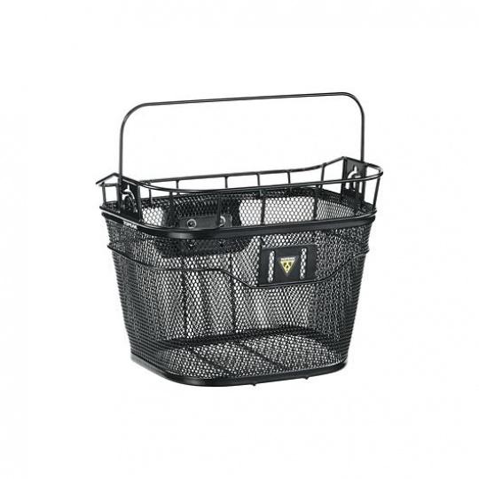 TOPEAK košík na řidítka BASKET FRONT Fixer 3 černá