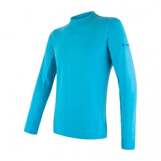 SENSOR MERINO EXTREME pánské triko dl.rukáv modrá Velikost: