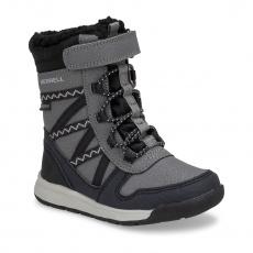 obuv merrell ML263130 SNOW CRUSH JR WTPF black/grey