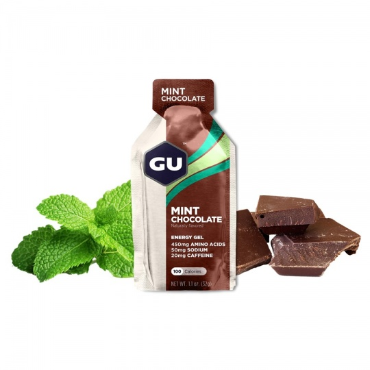 GU Energy Gel 32 g - Mint Chocolate (balení 10ks)