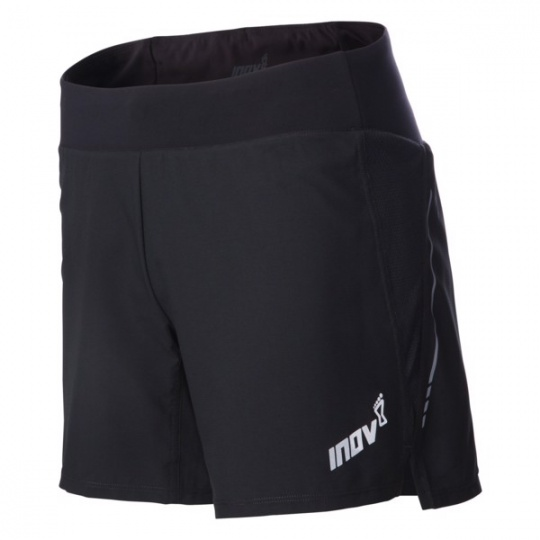 "INOV-8 RACE ELITE 6"" SHORT M black/red"