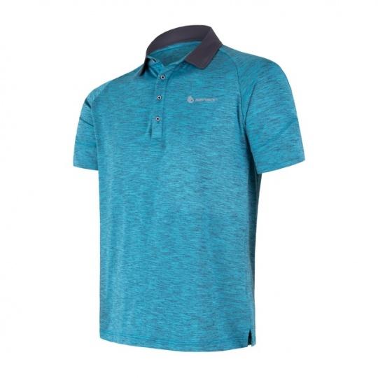 SENSOR MOTION pánské triko polo kr.rukáv modrá
