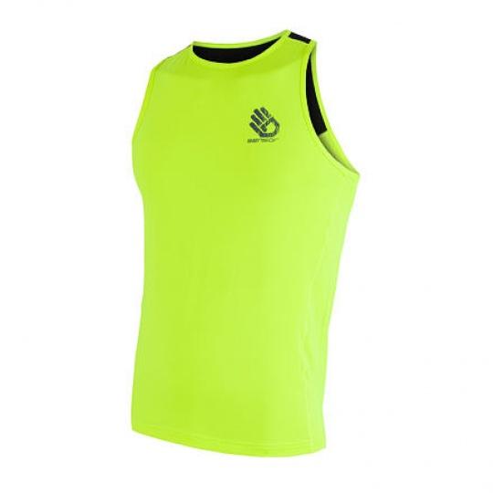 SENSOR COOLMAX FRESH PT HAND pánské triko bez rukávů reflex žlutá/černá Velikost: