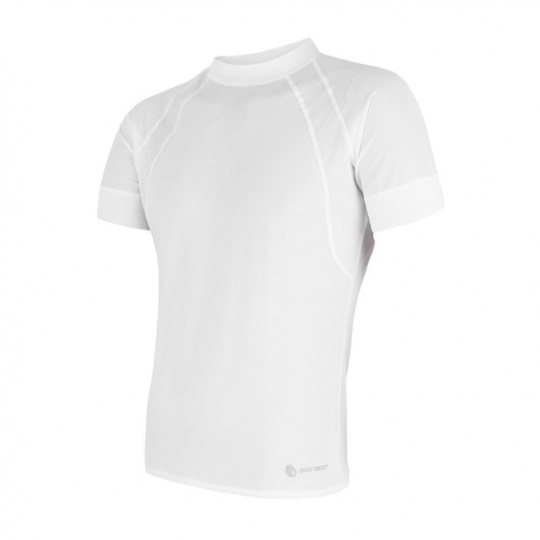 SENSOR COOLMAX AIR pánské triko kr.rukáv bílá