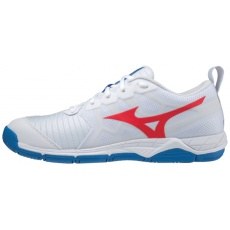 MIZUNO WAVE SUPERSONIC 2 / WHITE / IGNITION RED / FRENCH BLUE /