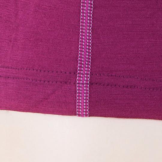 SENSOR MERINO ACTIVE dámské triko dl.rukáv lilla Velikost: