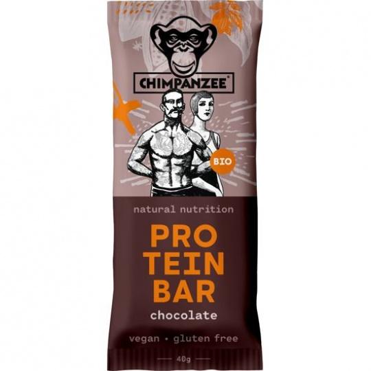 CHIMPANZEE BIO PROTEIN BAR Chocolate 40g, CZ-BIO-002 - SET 4+1 (5x40)