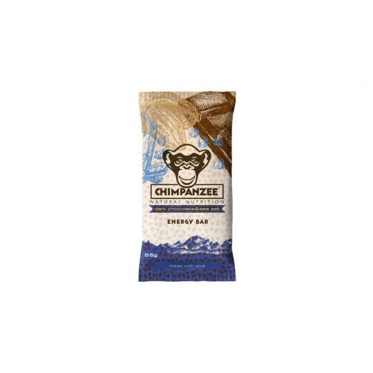 CHIMPANZEE  ENERGY BAR Dark Chocolate & Sea Salt 55g