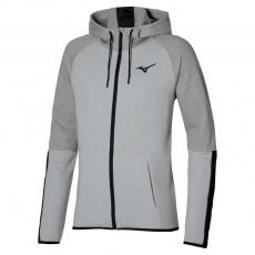 MIZUNO Athletic Zip Hoody / Grey melange /