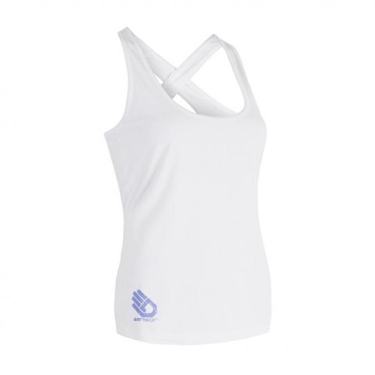 SENSOR COOLMAX FRESH PT HAND dámské triko bez rukávů bílá