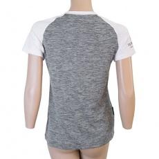 SENSOR CYKLO CHARGER dámský dres volný kr.rukáv šedá/bílá Velikost: