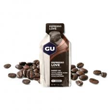 GU Energy Gel 32 g - Espresso Love (balení 10ks)