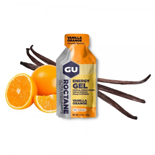 GU Roctane Energy Gel 32 g - Vanilla/Orange (balení 10ks)