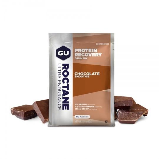 GU Roctane Recovery Drink Mix 62 g - Chocolate Smoothie 1 sáček (balení 5ks)