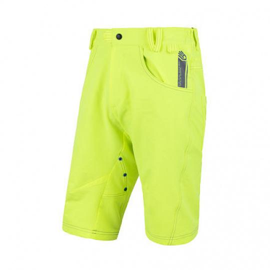 SENSOR CYKLO CHARGER pánské kalhoty krátké volné reflex žlutá Velikost: