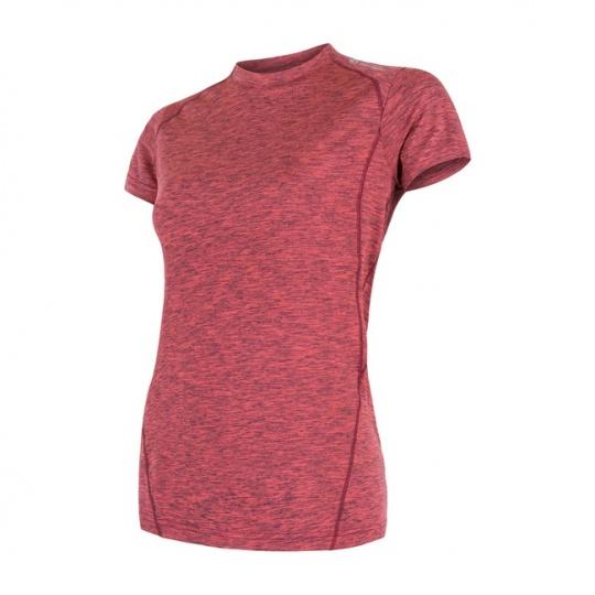 SENSOR MOTION dámské triko kr.rukáv růžová