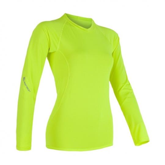 SENSOR COOLMAX FRESH dámské triko dl.rukáv žlutá reflex