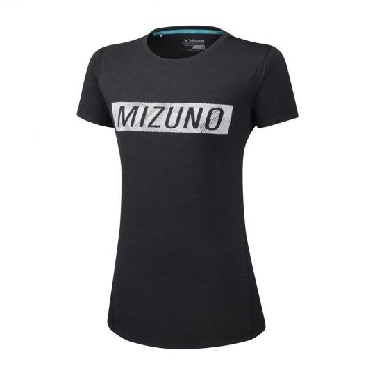 MIZUNO Impulse Core MIZUNO Graphic Tee / Black /