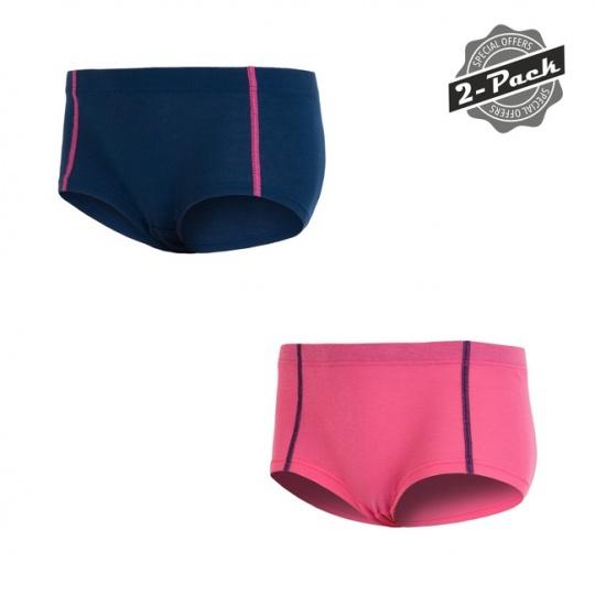 SENSOR ORIGINAL ACTIVE 2-PACK dámský kalhotky tm.modrá/růžová