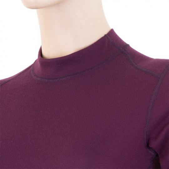 SENSOR DOUBLE FACE dámské triko dl.rukáv fialová Velikost: L