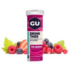 GU Hydration Drink Tabs 54 g - Triberry 1 tuba
