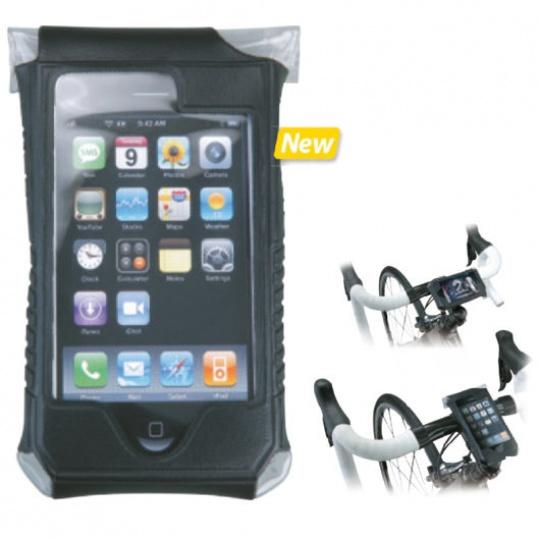 TOPEAK obal SMARTPHONE DRYBAG pro iPhone 4 černá
