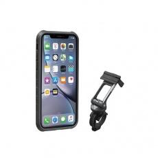 TOPEAK obal RIDECASE pro iPhone XR černá/šedá