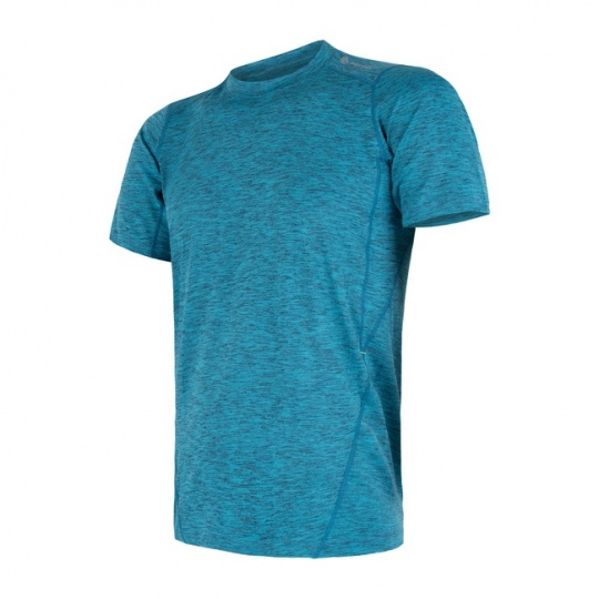 SENSOR MOTION pánské triko kr.rukáv modrá
