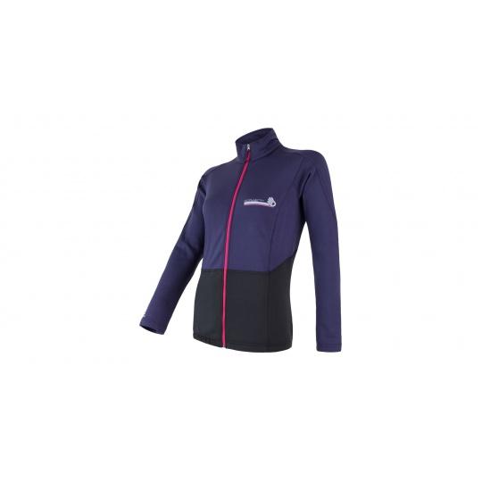 SENSOR PROFI dámská bunda černá/fialová
