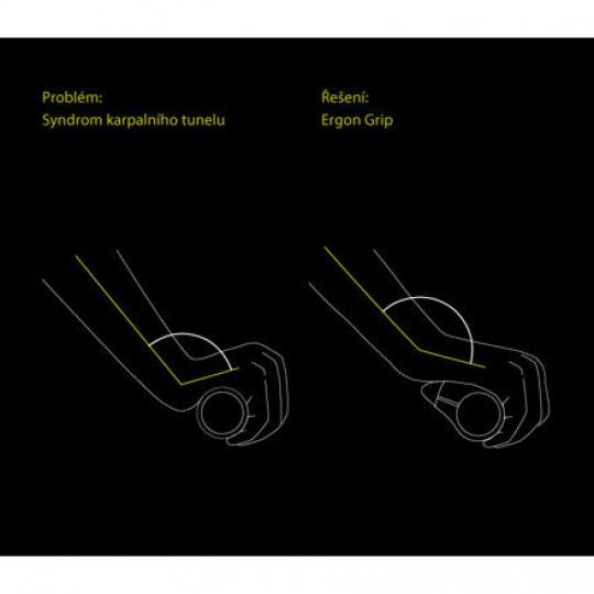 ERGON gripy GP1 Biokork -L