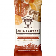 CHIMPANZEE  ENERGY BAR Cashew Caramel 55g - SET 4+1 (5x55g)