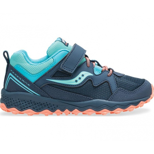 SAUCONY S-PEREGRINE SHIELD 2 A/C NAVY/TURQ