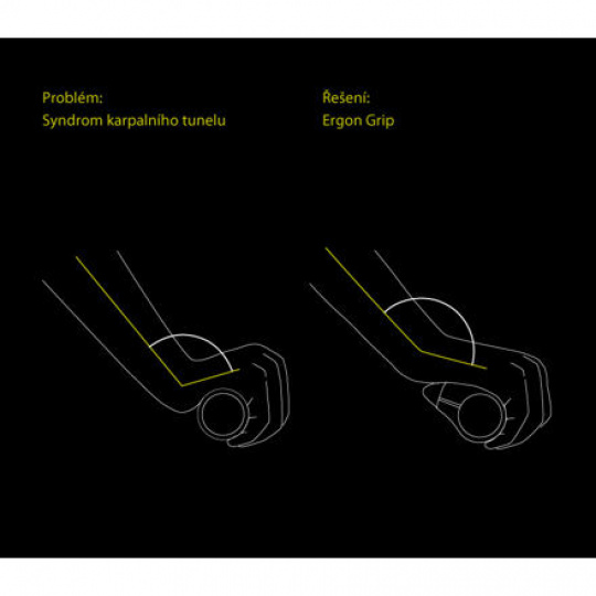 ERGON gripy GP1 Biokork -S