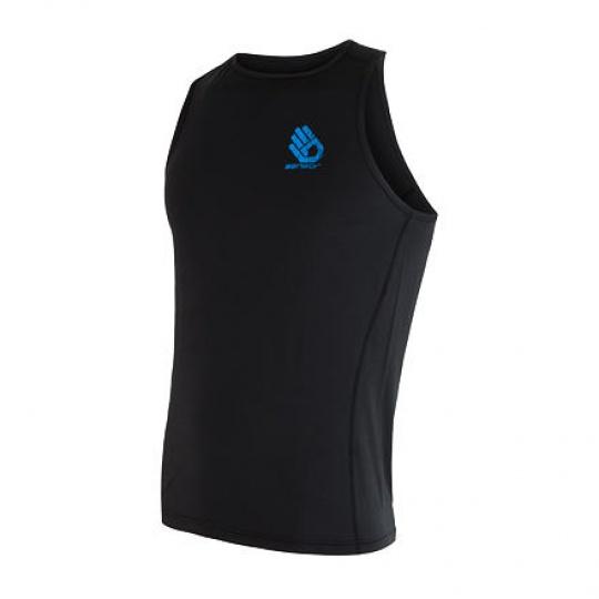 SENSOR COOLMAX FRESH PT HAND pánské triko bez rukávů černá Velikost: