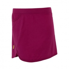 SENSOR MERINO ACTIVE dámská sukně lilla