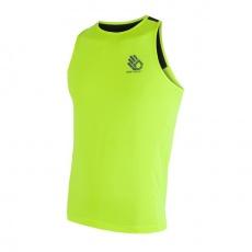 SENSOR COOLMAX FRESH PT HAND pánské triko bez rukávů žl.reflex/černá