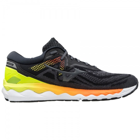 MIZUNO Wave Sky 4 / Phantom/CRock/SYellow / 4