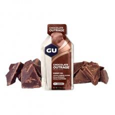 GU Energy Gel 32 g - Chocolate Outrage (balení 10ks)