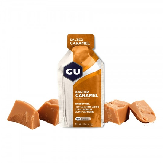 GU Energy Gel 32 g - Salted Caramel (balení 10ks)