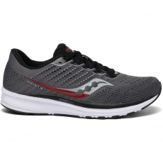 SAUCONY RIDE 13 CHARCOAL/BLACK