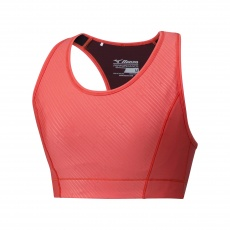 Aero High Support Bra/Hot Coral