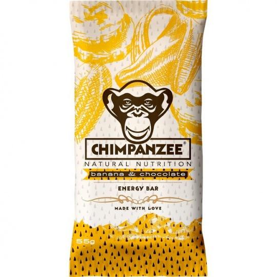 CHIMPANZEE  ENERGY BAR Banana Chocolate 55g - SET 4+1 (5x55g)