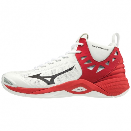 WAVE MOMENTUM MID / White / Black / High Risk Red /