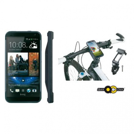 TOPEAK obal RIDECASE pro HTC One černá