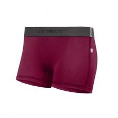 SENSOR COOLMAX TECH dámské kalhotky s nohavičkou lilla Velikost: