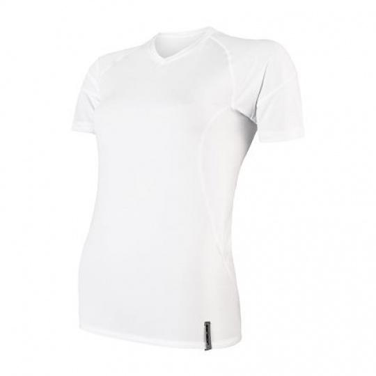 SENSOR COOLMAX TECH dámské triko kr.rukáv bílá Velikost: